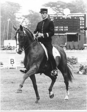 Christian Carde ja Solitaire maailmanmestaruuskilpailuissa Goodwoodissa 1978